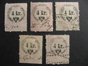 Austria-5-U-4-kr-revenues-collector-believed-had-print-plate-varieties-errors