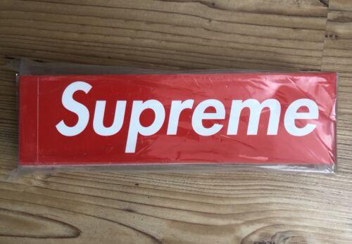SUPREME Box Logo Sticker einzeln 1 Stück 100/% original NEU Off White Yeezy