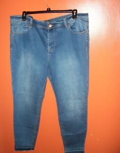 1671fb503d5 Image is loading FOREVER-21-PLUS-SIZE-SKINNY-JEANS-WOMENS-20W