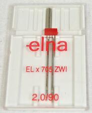 Elna Lock Sewing Machine / Serger Double Needle ELZ-90