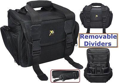 Deluxe Large Carrying Case For Panasonic Lumix DMC-G7 DMC-GX8 DMC-G7H DMC-FZ300