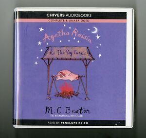 Agatha-Raisin-As-the-Pig-Turns-M-C-Beaton-Audiobook-6CDs