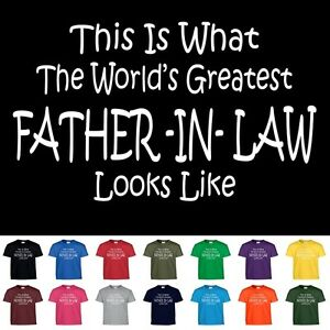 image is loading worlds greatest father in law funny groomsmen wedding - What To Get Father In Law For Christmas