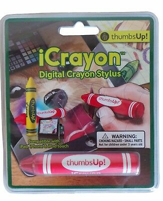 Thumbs Up Red Icrayon Stylus Per Ipad Iphone Ipod Touch Calza Di Natale- Altamente Lucido