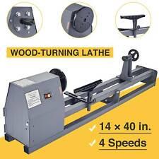 Electric 12 Hp 14 X 40 Variable Speed Benchtop Wood Lathe Woodturning Lathe