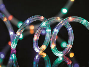 12m-Multi-Coloured-LED-Christmas-Party-Indoor-Outdoor-Flashing-Rope-Light-New
