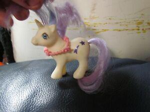 Vintage 1984 My Little Pony G1 Baby Glory Unicorn Baby Ponies