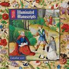 British Library - Illuminated Manuscripts Wall Calendar 2017 9781783617937