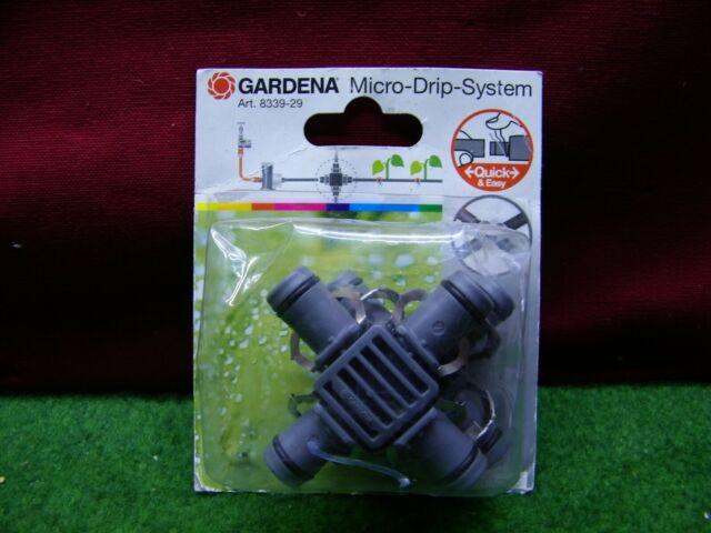 micro drip gardena ref 8339 en croix en 13