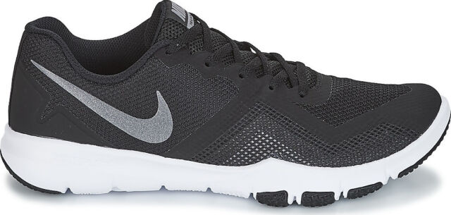 083c6045bfb8 Nike Men`s Flex Control II Training Shoes Black White D 4E MEDIUM EXTRA WIDE