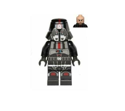 Printed Legs minifigure Black Outfit LEGO Star Wars Sith Trooper