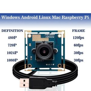 High fps 100fps USB Camera Module Full HD 1080P Web USB Security Cam