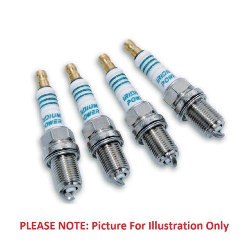 4x Spark Plugs Twin Tip Q16TT 4607-se adapta a Peugeot 205 1.1 gasolina