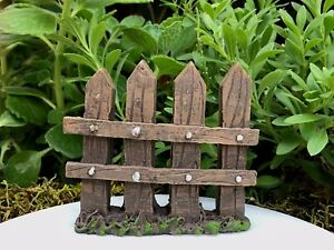 Image Is Loading Miniature Dollhouse FAIRY GARDEN Mini 4 Post Resin