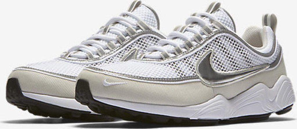 Nike Air Zoom Spiridon '16 Men's Running Training Shoes White/Silver 926955 105