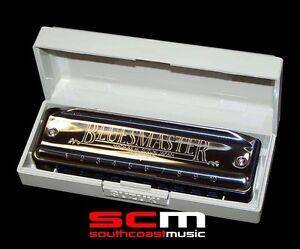 Brand-New-Suzuki-Bluesmaster-10-hole-Diatonic-Harmonica-MR250-Key-of-C-Harp