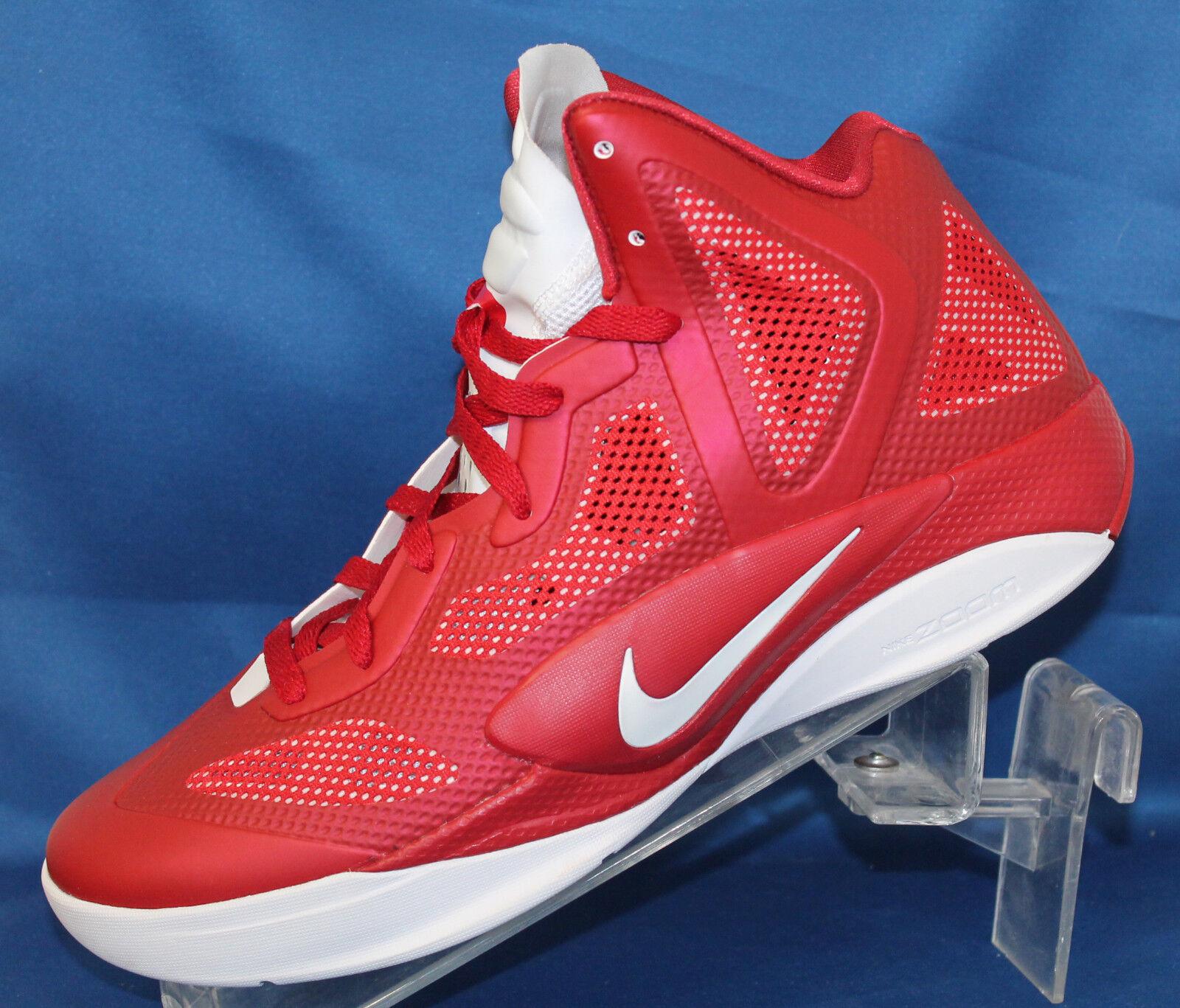 Uomo Shoe Nike Zoom Hyperfuse 2011 TB Basketball Shoe Uomo  - 454146-600 39adff