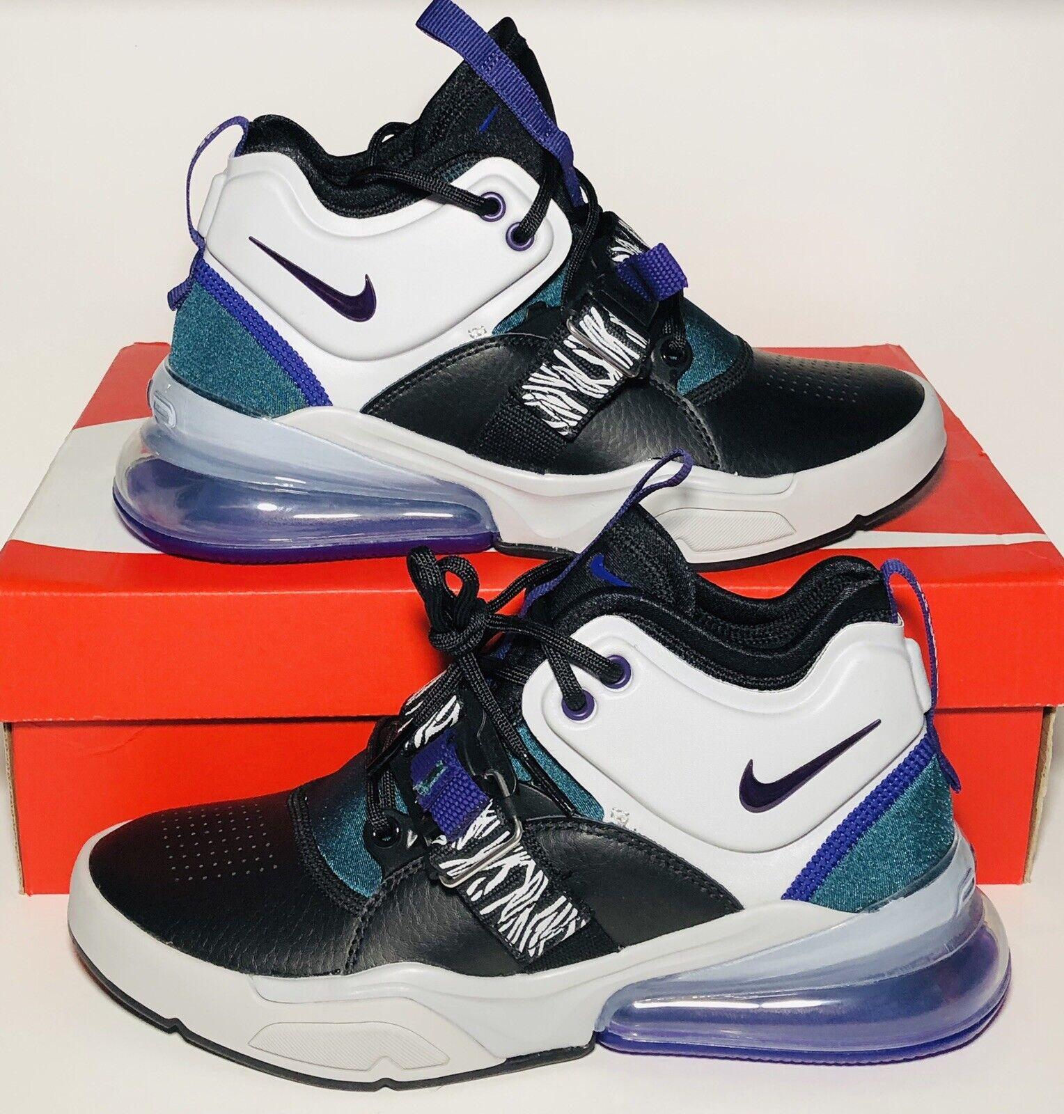 New Nike  Air Force 270 Carnivore nero Court viola Zebra Max GS 6.5Y Donne 65533;s 8  risparmia il 35% - 70% di sconto
