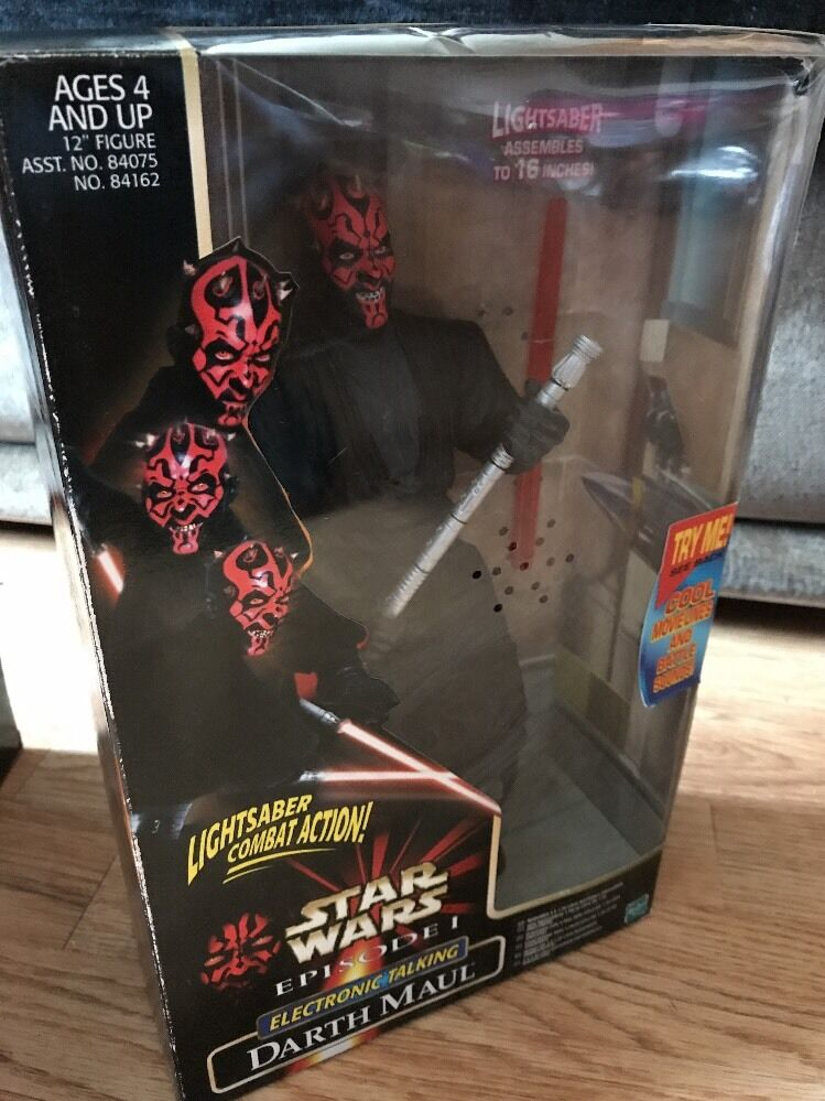 Star Wars Action Collection  Episode 1 Electronic Talking Darth Maul 12inch