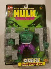 Marvel Incredible Hulk Rampaging Hulk Action Figure 1996 Toy Biz