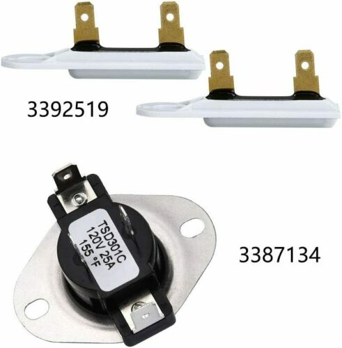 Dryer Thermal Fuse Fit Whirlpool Kenmore G4AP0500 TF 091C