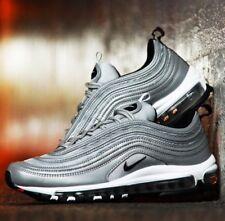 d8b1bc644869 Nike Air Max 97 Premium Metallic Reflective Silver Black Sz 9.5 312834 007