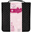 docrafts Papermania Stamp and Die Black Polka Dot Storage Case with 10 Pockets