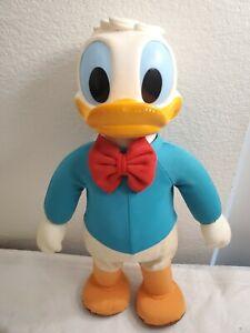 "1975 Walking & Dancing Donald Duck Walt Disney Productions Hasbro 16"" Vintage"