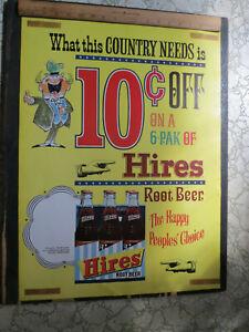 "Hires Root Beer Poster 18"" X 24"""