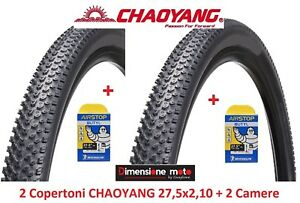 2-Copertoni-C-YANG-27-5x2-10-2-Camere-Michelin-x-Bici-27-5-034-MTB-Mountain-Bike