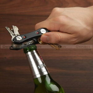 LED-Aluminum-Key-Holder-Organizer-Portable-Keyring-Keychain-EDC-Pocket-Tool