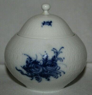 Zuckerdose Dose von Rosenthal aus der Serie Romanze blau