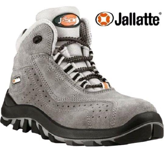 Homme jallatte bottes de sécurité en cuir composite toe cap femmes travail bottes baskets