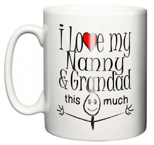 Dirty-Fingers-Mug-034-I-Love-My-Nanny-And-Grandad-This-Much-034-Grandchild-Gift