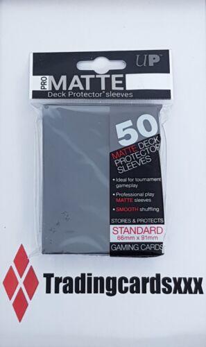 ♦Pokémon♦ 50 Protèges Cartes//Pochettes//Sleeves STANDARD Ultra PRO-MATTE Noir