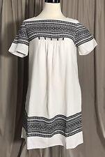 MADEWELL CABANA JACQUARD SHIFT DRESS SIZE XS F0100