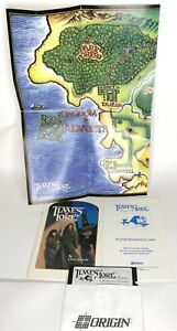 """Times of Lore IBM PC Game on 5.25"""" Disk With Map And Booklets No Box"""
