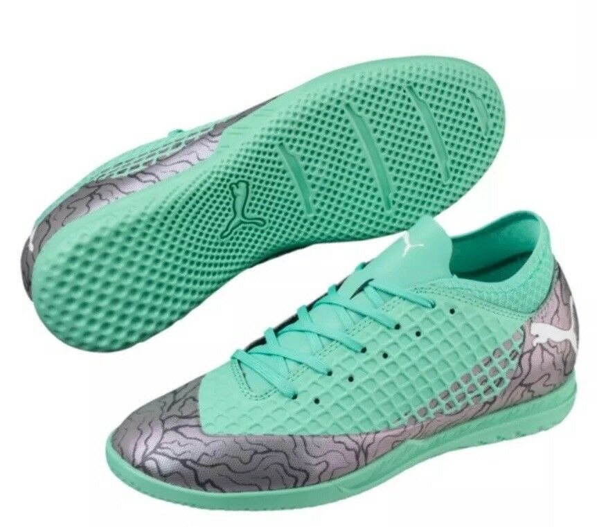 Futuro 2.4 Zapatos de fútbol de salón que Junior Talla 5.5C