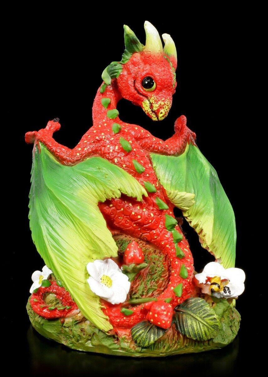 Dragon Figure - Strawberry by Stanley Morrison - Drachenjunges Deco Statue