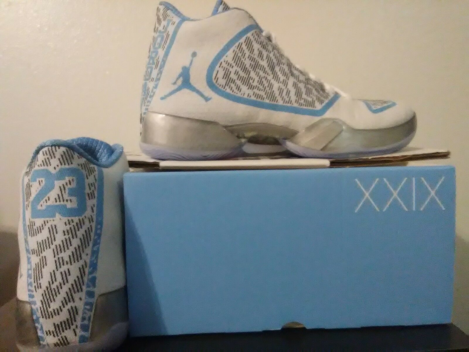 Air Jordan 29 White Silver Pantone Nike AJ XXIX Mens Shoes 717796-108 Comfortable Comfortable and good-looking