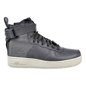 7b5016ea34aa Nike SF Air Force 1 Mid Mens Shoes Dark Grey Dark Grey Light Bone ...