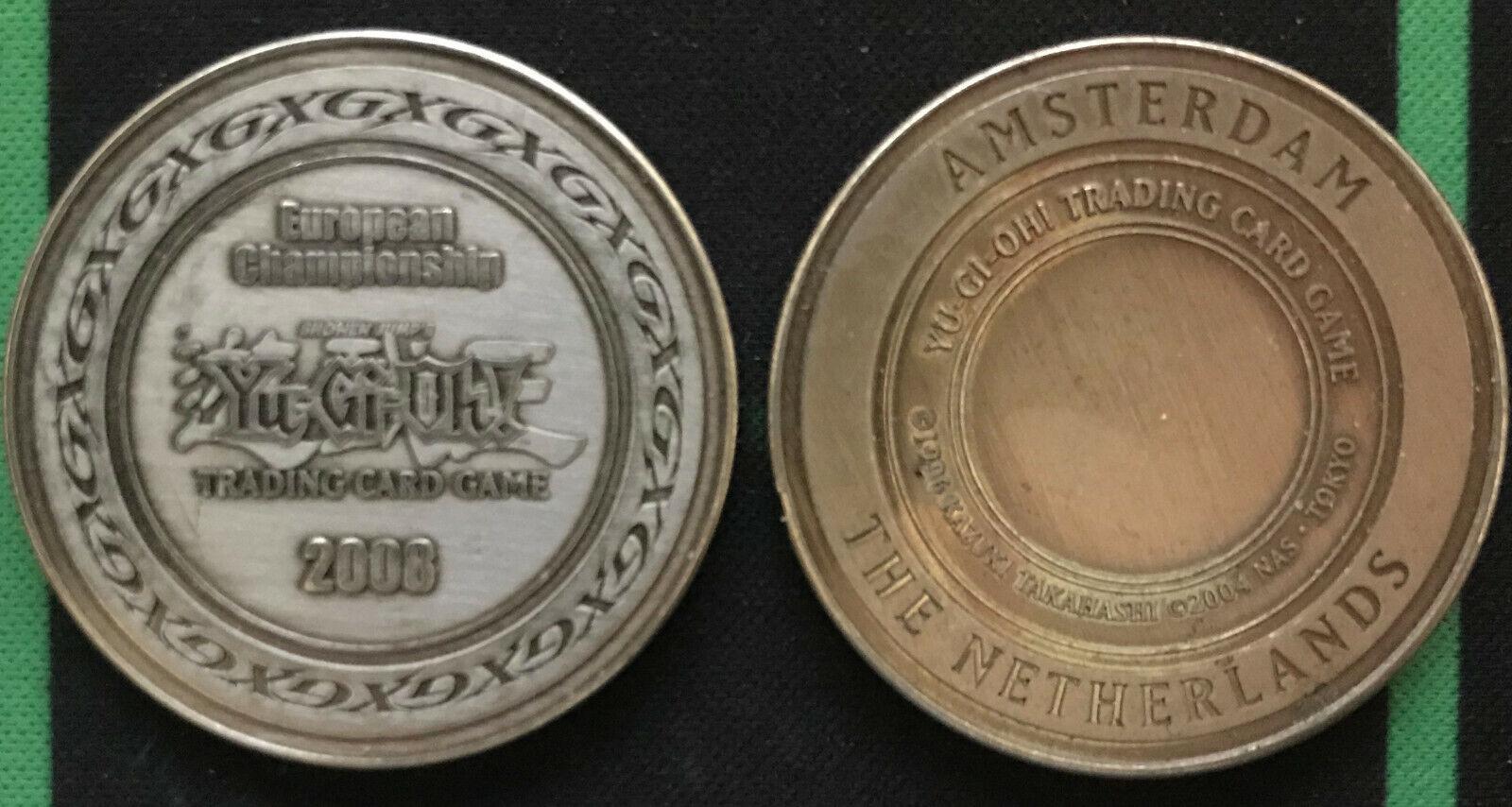 Coin Album with 3 coins FANATTIK OVP Yu-Gi-Oh!