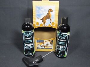 Eqyss Micro-Tek System Pack Pet Shampoo and Pet Spray dogs cats puppies maximum
