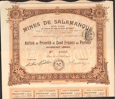 Mines de SALAMANQUE (ESPAGNE) (K)