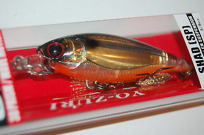 "Yo-Zuri R1104-PTSH 3DB Shad SP Prism Tennessee Shad 70mm 2 3//4/"" 3//8 oz Lure"