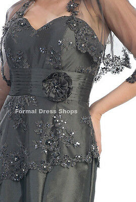 SALE ! FORMAL FUNERAL NEW YEARS GOWN MOTHER OF THE GROOM SIMPLE BRIDESMAID DRESS