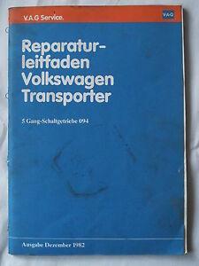 VW-T3-Joker-California-DoKa-5-Gg-Getriebe-Kupplung-Schaltung-Reparaturanleitung