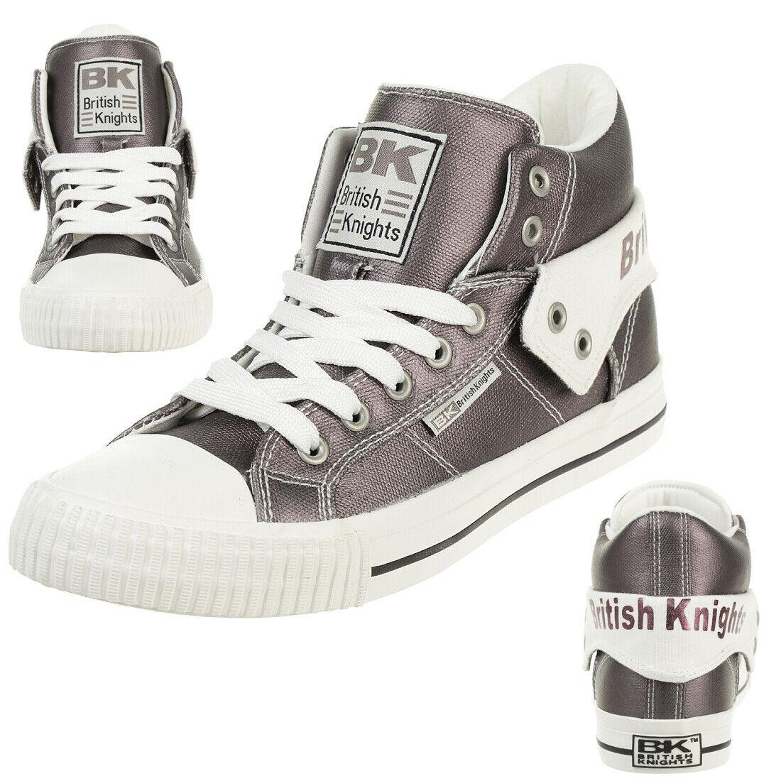 British Knights Roco Metálico BK Zapatillas Deportivas de Mujer B43 3706 02 gris