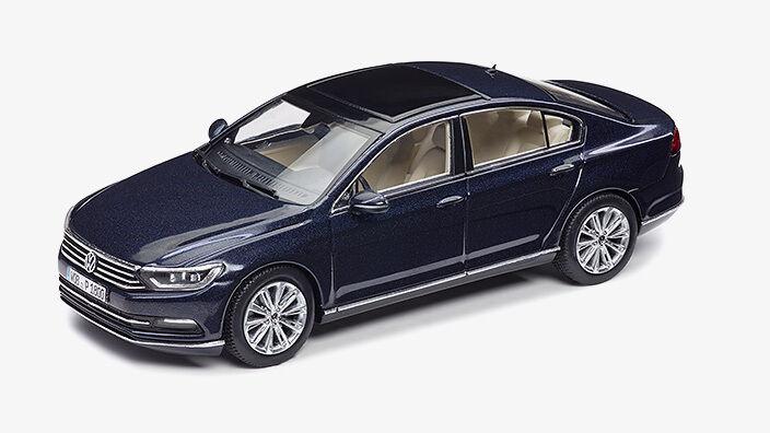 Original VW Passat 3G Limousine B8 Modellauto 1 43 43 43 Night Blau Blau 3G5099300 F5F  | Authentische Garantie  a9bb4c