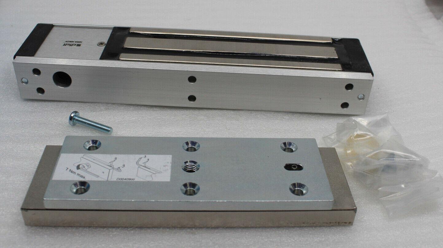Assa Abloy effeff Flächenhaftmagnet komplett mit Gegenplatte 828-44 NEU